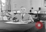 Image of Harry S Truman announcing the use of an atomic bomb California USA, 1945, second 8 stock footage video 65675072459