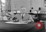 Image of Harry S Truman announcing the use of an atomic bomb California USA, 1945, second 9 stock footage video 65675072459