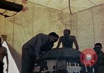 Image of Final arming of first nuclear bomb for Trinity nuclear test Alamogordo New Mexico USA, 1945, second 3 stock footage video 65675072462