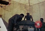 Image of Final arming of first nuclear bomb for Trinity nuclear test Alamogordo New Mexico USA, 1945, second 5 stock footage video 65675072462