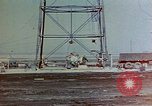 Image of Hoisting of Gadget atomic bomb before Trinity nuclear test Alamogordo New Mexico USA, 1945, second 4 stock footage video 65675072463