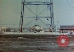 Image of Hoisting of Gadget atomic bomb before Trinity nuclear test Alamogordo New Mexico USA, 1945, second 9 stock footage video 65675072463