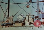 Image of Hoisting of Gadget atomic bomb before Trinity nuclear test Alamogordo New Mexico USA, 1945, second 10 stock footage video 65675072463
