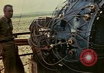 Image of Trinity atomic bomb Gadget wired for detonation Alamogordo New Mexico USA, 1945, second 4 stock footage video 65675072464