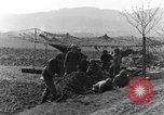 Image of American gun crew firing 105mm howitzer Germany, 1945, second 4 stock footage video 65675072467