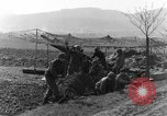 Image of American gun crew firing 105mm howitzer Germany, 1945, second 5 stock footage video 65675072467