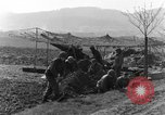 Image of American gun crew firing 105mm howitzer Germany, 1945, second 6 stock footage video 65675072467