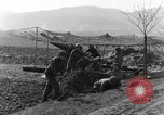 Image of American gun crew firing 105mm howitzer Germany, 1945, second 8 stock footage video 65675072467