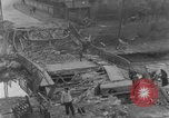 Image of damaged bridge Ickern Germany, 1945, second 6 stock footage video 65675072471