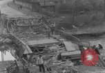 Image of damaged bridge Ickern Germany, 1945, second 7 stock footage video 65675072471
