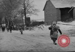 Image of United States infantry advance Saint Vith Belgium, 1945, second 12 stock footage video 65675072474