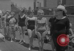 Image of grandmothers bathing beauty contest New York City USA, 1967, second 4 stock footage video 65675072481
