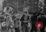 Image of Anti Shah demonstration Berlin Germany, 1967, second 4 stock footage video 65675072487
