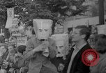 Image of Anti Shah demonstration Berlin Germany, 1967, second 8 stock footage video 65675072487