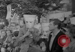 Image of Anti Shah demonstration Berlin Germany, 1967, second 9 stock footage video 65675072487