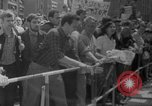 Image of Anti Shah demonstration Berlin Germany, 1967, second 10 stock footage video 65675072487