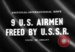 Image of United States airmen West Germany, 1958, second 1 stock footage video 65675072510