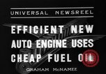 Image of motor engine Toledo Ohio USA, 1936, second 2 stock footage video 65675072522