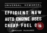 Image of motor engine Toledo Ohio USA, 1936, second 5 stock footage video 65675072522
