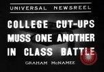 Image of University get together New York City USA, 1936, second 1 stock footage video 65675072525