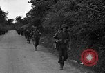 Image of U.S.4th Armored Division in Operation Cobra in World War II Periers France, 1944, second 5 stock footage video 65675072546
