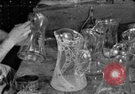 Image of cut glass making United States USA, 1919, second 1 stock footage video 65675072549
