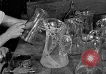 Image of cut glass making United States USA, 1919, second 5 stock footage video 65675072549