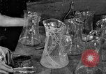 Image of cut glass making United States USA, 1919, second 7 stock footage video 65675072549