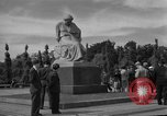 Image of Russian Memorial Park Berlin Germany, 1953, second 6 stock footage video 65675072568