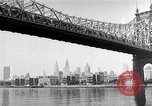 Image of Queensboro Bridge New York United States USA, 1954, second 10 stock footage video 65675072569
