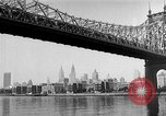 Image of Queensboro Bridge New York United States USA, 1954, second 12 stock footage video 65675072569