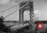 Image of George Washington Bridge New York United States USA, 1954, second 6 stock footage video 65675072573