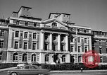 Image of campus building New York United States USA, 1962, second 2 stock footage video 65675072592