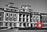 Image of campus building New York United States USA, 1962, second 5 stock footage video 65675072592