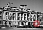 Image of campus building New York United States USA, 1962, second 10 stock footage video 65675072592
