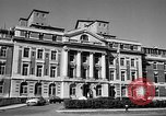 Image of campus building New York United States USA, 1962, second 11 stock footage video 65675072592