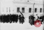 Image of outdoor church service Siberia, 1918, second 10 stock footage video 65675072599