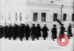 Image of outdoor church service Siberia, 1918, second 12 stock footage video 65675072599