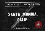 Image of Superliner aircraft Santa Monica California USA, 1938, second 2 stock footage video 65675072647
