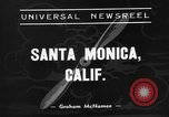 Image of Superliner aircraft Santa Monica California USA, 1938, second 3 stock footage video 65675072647