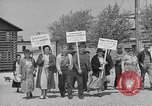Image of cannery labors strike Racine Wisconsin USA, 1938, second 6 stock footage video 65675072649