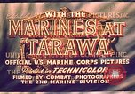 Image of Battle of Tarawa Tarawa Gilbert Islands, 1943, second 11 stock footage video 65675072662