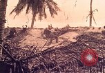 Image of Battle of Tarawa Tarawa Gilbert Islands, 1943, second 9 stock footage video 65675072664