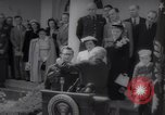 Image of President Harry S Truman presents Medals of Honor Washington DC USA, 1952, second 7 stock footage video 65675072673