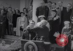 Image of President Harry S Truman presents Medals of Honor Washington DC USA, 1952, second 10 stock footage video 65675072673