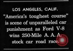 Image of Gilmore Stock Car Race Los Angeles California USA, 1934, second 2 stock footage video 65675072676