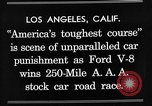 Image of Gilmore Stock Car Race Los Angeles California USA, 1934, second 10 stock footage video 65675072676