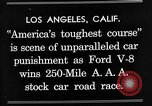 Image of Gilmore Stock Car Race Los Angeles California USA, 1934, second 11 stock footage video 65675072676