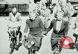 Image of Belgian civilians during Nazi occupation Brussels Belgium., 1940, second 4 stock footage video 65675072691