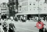 Image of Belgian civilians during Nazi occupation Brussels Belgium., 1940, second 7 stock footage video 65675072691